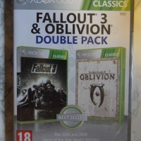 Fallout 3 & Oblivion, Double pack (XBOX 360, Uusi muoveissa)