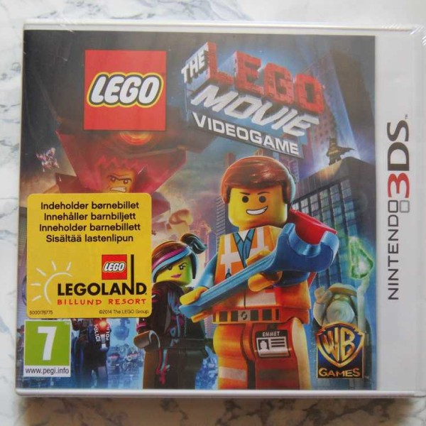 The Lego Movie Videogame (3DS, Uusi muoveissa)