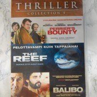 Thriller Collection 4, Perrier's Bounty, The Reef, Balibo, 3 elokuvaa (DVD)