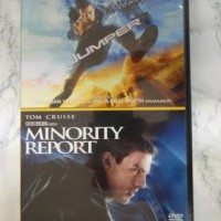 Jumper, Minority Report, 2 elokuvaa (DVD)