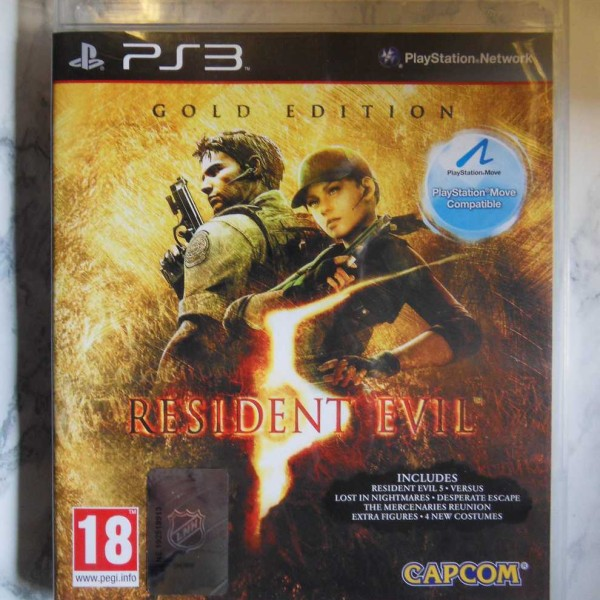 Resident Evil – Gold Edition (PS3)