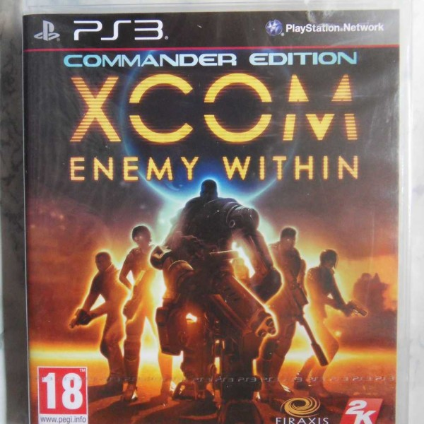 XCOM, Enemy Within, Commander Edition (PS3) (Uusi Muoveissa)