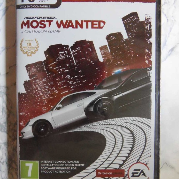 Need For Speed, Most Wanted, Limited Edition (PC) (UUSI MUOVEISSA)