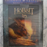 The Hobbit – The Desolation of Smaug 3D, Extended Edition (Blu-ray 3D + Blu-ray) (UUSI MUOVEISSA)