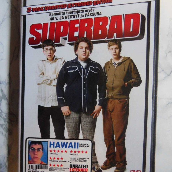 Superbad – 2-disc Unrated Extended Edition (DVD)
