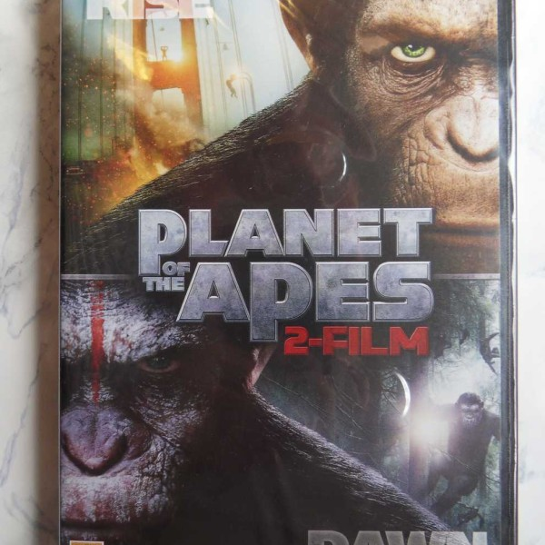 Rise of the planet of the Apes & Dawn of the planet of the Apes – 2-film (DVD) (UUSI MUOVEISSA)