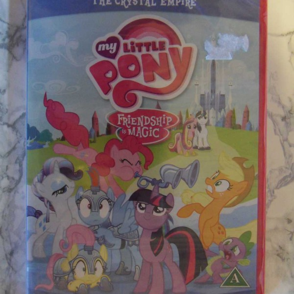 My Little Pony, Friendship is magic, II The Crystal Empire, (DVD) (Uusi muoveissa)