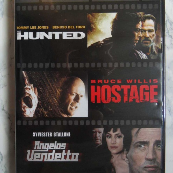 Men of Action – Hunted, Hostage, Angelos Vendetta (DVD)