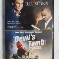 Lies and Illusions, The Devil's Tomb – 2 elokuvaa (DVD)