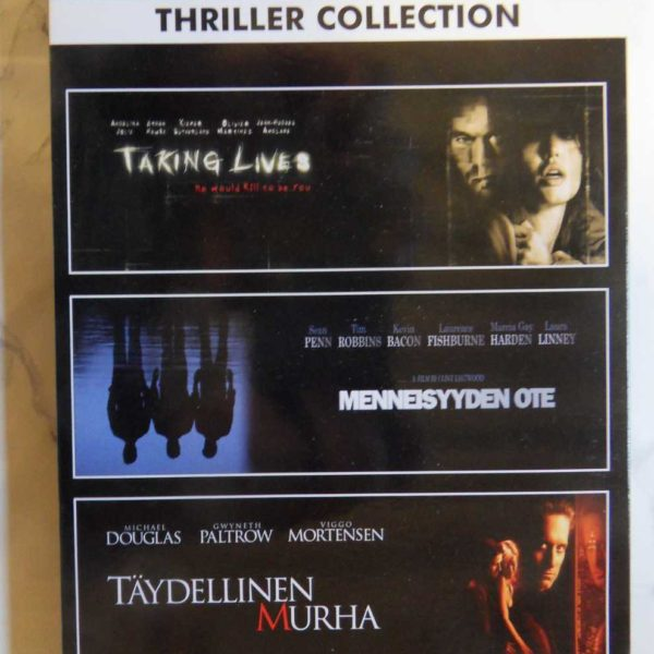 Thriller Collection: Taking Lives, Menneisyyden Ote, Täydellinen Murha (DVD)